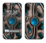 Apple iPhone 4 Skin :: Cynic Blue