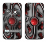 Apple iPhone 4 Skin :: Cynic Red