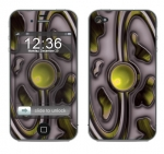 Apple iPhone 4 Skin :: Cynic Yellow