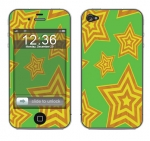 Apple iPhone 4 Skin :: Falling Stars