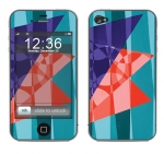 Apple iPhone 4 Skin :: Geometric Blast