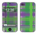 Apple iPhone 4 Skin :: Punk Rock Plaid