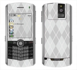 BlackBerry Pearl 8100 Skin :: Argyle Gray
