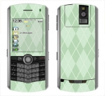 BlackBerry Pearl 8100 Skin :: Argyle Green