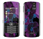 BlackBerry Pearl 8100 Skin :: Cosmic Flowers 1