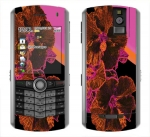 BlackBerry Pearl 8100 Skin :: Cosmic Flowers 3