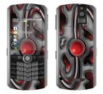 BlackBerry Pearl 8100 Skin :: Cynic Red