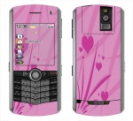 BlackBerry Pearl 8100 Skin :: Floating Hearts