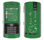 BlackBerry Pearl 8100 Skin :: Kiss Me Irish
