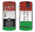 BlackBerry Pearl 8100 Skin :: Kiss Me Italian
