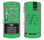 BlackBerry Pearl 8100 Skin :: Kiss Me Rich