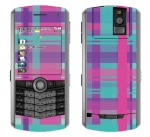 BlackBerry Pearl 8100 Skin :: Candy Shop Plaid