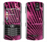 BlackBerry Pearl 8100 Skin :: Splatter Pink
