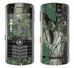 BlackBerry Pearl 8100 Skin :: Tree Camo Green