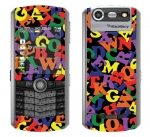 BlackBerry Pearl 8130 Skin :: Alphabet Soup