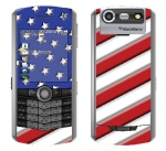 BlackBerry Pearl 8130 Skin :: American Flag 1