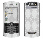 BlackBerry Pearl 8130 Skin :: Argyle Gray