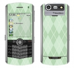 BlackBerry Pearl 8130 Skin :: Argyle Green