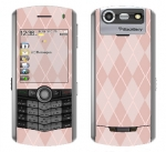 BlackBerry Pearl 8130 Skin :: Argyle Red