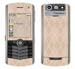 BlackBerry Pearl 8130 Skin :: Argyle Tan