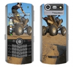 BlackBerry Pearl 8130 Skin :: ATV Rider