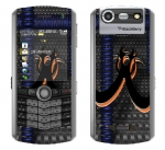 BlackBerry Pearl 8130 Skin :: Bio Hazard