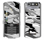 BlackBerry Pearl 8130 Skin :: Camo Snow