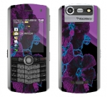 BlackBerry Pearl 8130 Skin :: Cosmic Flowers 1