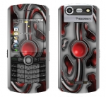 BlackBerry Pearl 8130 Skin :: Cynic Red