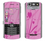 BlackBerry Pearl 8130 Skin :: Floating Hearts