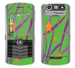BlackBerry Pearl 8130 Skin :: Floating Stars