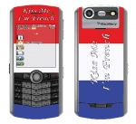 BlackBerry Pearl 8130 Skin :: Kiss Me French
