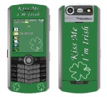 BlackBerry Pearl 8130 Skin :: Kiss Me Irish
