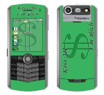 BlackBerry Pearl 8130 Skin :: Kiss Me Rich