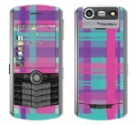 BlackBerry Pearl 8130 Skin :: Candy Shop Plaid