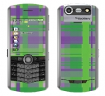 BlackBerry Pearl 8130 Skin :: Punk Rock Plaid