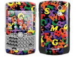 BlackBerry Curve 8300 Skin :: Alphabet Soup