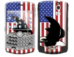 BlackBerry Curve 8300 Skin :: American Flag 2