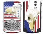 BlackBerry Curve 8300 Skin :: American Flag 3