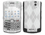 BlackBerry Curve 8300 Skin :: Argyle Gray