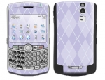 BlackBerry Curve 8300 Skin :: Argyle Purple