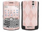 BlackBerry Curve 8300 Skin :: Argyle Red