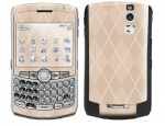 BlackBerry Curve 8300 Skin :: Argyle Tan