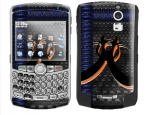 BlackBerry Curve 8300 Skin :: Bio Hazard