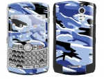 BlackBerry Curve 8300 Skin :: Camo Blue