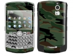 BlackBerry Curve 8300 Skin :: Camo Green