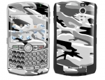 BlackBerry Curve 8300 Skin :: Camo Snow