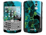 BlackBerry Curve 8300 Skin :: Cosmic Flowers 2