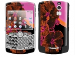 BlackBerry Curve 8300 Skin :: Cosmic Flowers 3