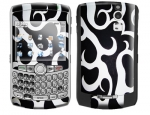 BlackBerry Curve 8300 Skin :: Curly Contours